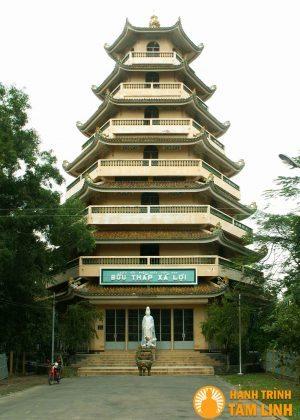 Bảo tháp xá lợi của chùa Giác Lâm