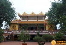 Chánh điện chùa Pháp Lâm