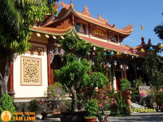 Chánh Điện chùa Bảo Lâm