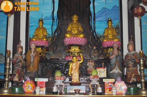 Chính điện chùa Phước Lâm