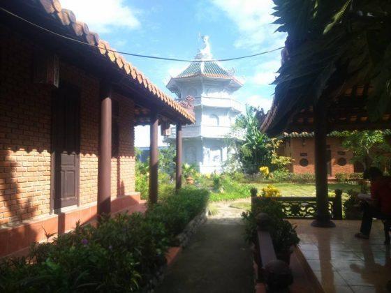 góc nhỏ chùa Quang Minh