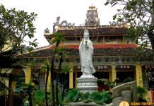 Chánh điện chùa Thiên Lộc
