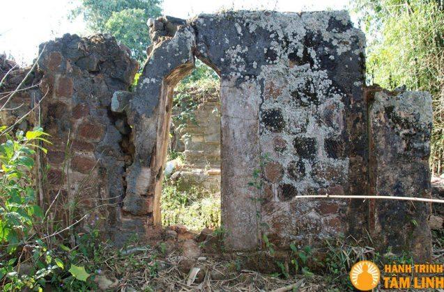 Dấu tích còn lại của chùa