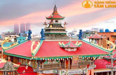 Kiến trúc mái chùa An Phú