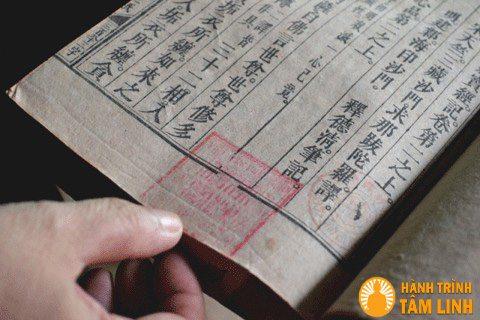 Bộ kinh - Báu vật quý giá còn lưu giữ tại chùa Cần Linh