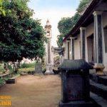 Mặt tiền chùa Đót Tiên