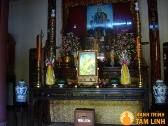 Nơi thờ thiền sư Liễu Quán