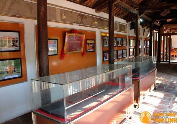 Phòng trưng bày Mộc bản Kinh Phật chùa Vĩnh Nghiêm
