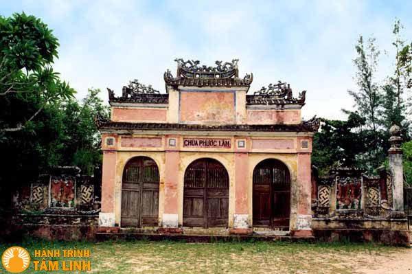 Tam Quan chùa Phước Lâm