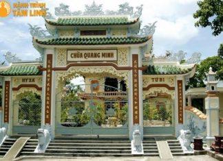 Tam quan chùa Quang Minh