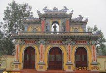 Tam quan chùa Tịnh Quang