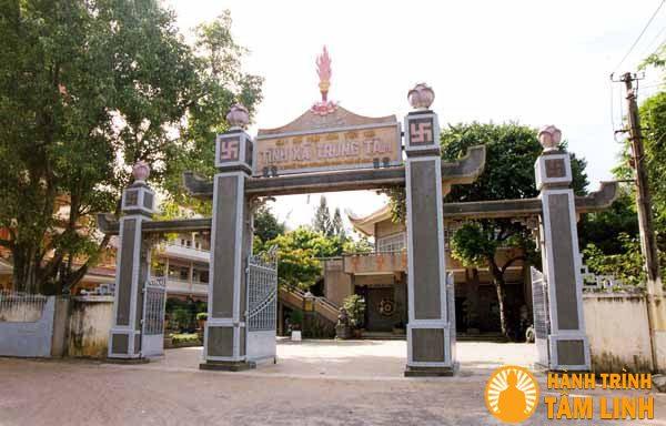 Tam Quan chùa Tịnh Xá