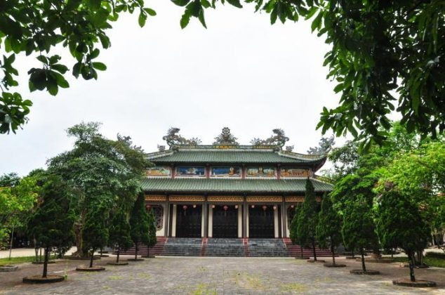 Tổ đình chùa Tịnh Quang