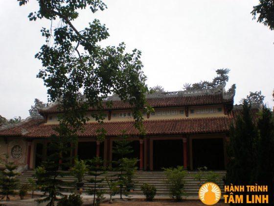 Toàn cảnh chùa Thuyền Tôn