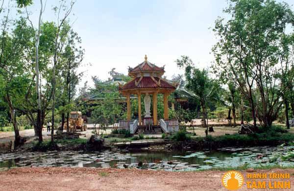 Toàn cảnh chùa Tịnh Quang