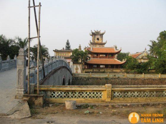 Toàn cảnh chùa Sùng Nghiêm Diên Thánh