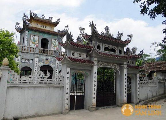 Cổng chùa Giồng Thành