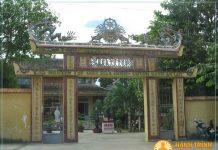 Tam quan chùa Từ Tôn