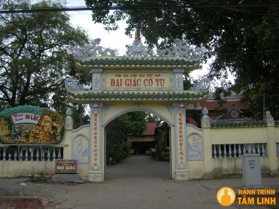 Cổng chùa Đại Giác