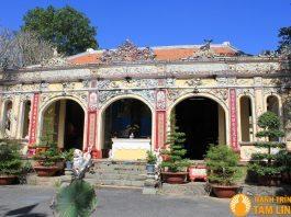 Mặt tiền chùa Bửu Phong