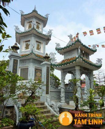 Tháp tổ chùa Long Thiền