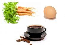 Cà rốt, trứng hay cà phê?