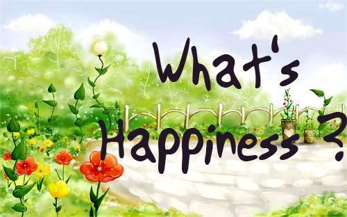 hạnh phúc thực ra rất đơn giản bạn à