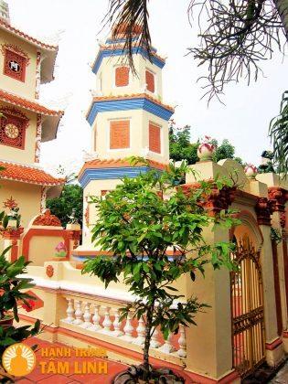 Tháp mộ chùa Hội Linh