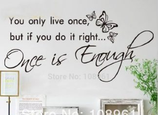 Bạn chỉ sống 1 lần