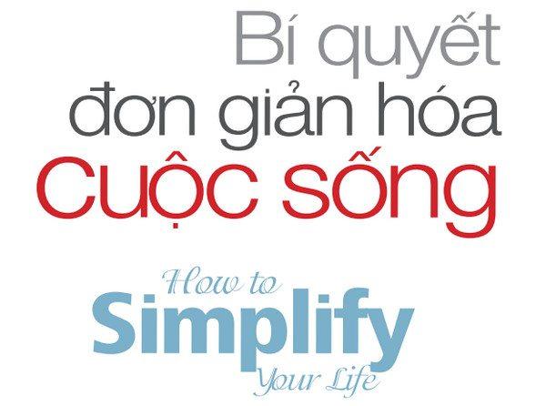 Bí quyết sống đơn giản