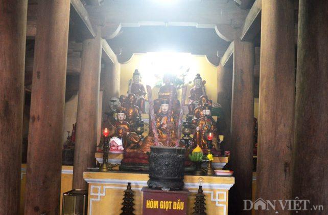 Chính điện chùa Bảo Sái