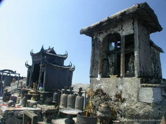 Chùa Đồng Yên Tử ngày xưa