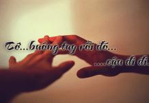 Những câu nói hay về tình yêu khi chia tay
