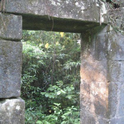 Tường đá am Dược - Yên Tử