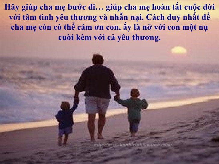 Những câu nói hay và ý nghĩa về cha mẹ P1