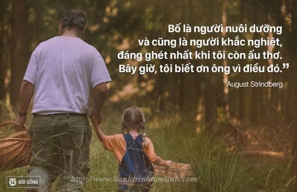 Những câu nói hay và ý nghĩa về tình cha P2