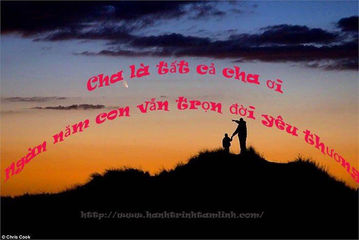Những câu nói hay và ý nghĩa về tình cha P1