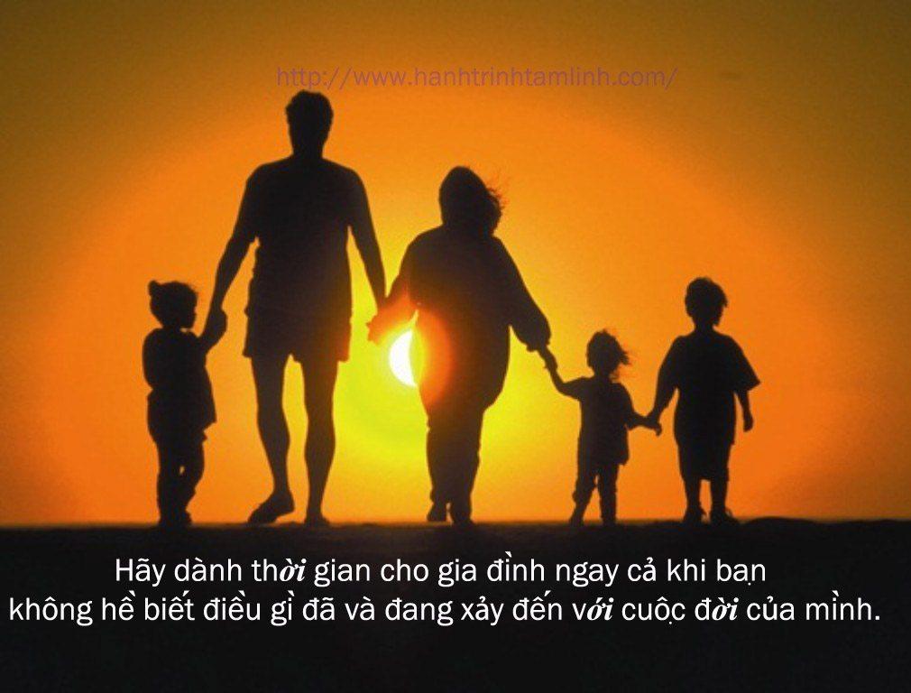 Những câu nói hay về tình cảm gia đình P1