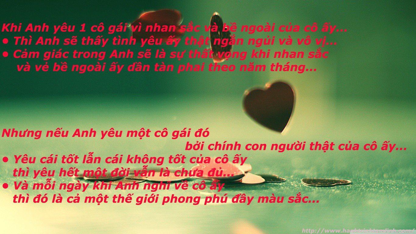 Những câu nói hay về yêu xa P1