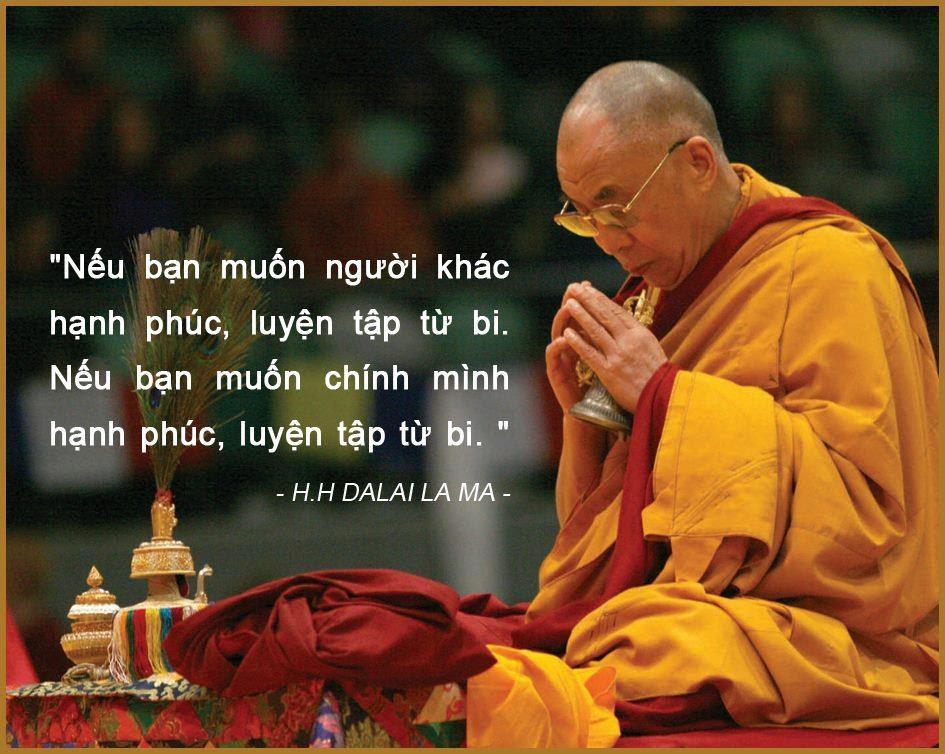 Câu nói hay của đức Dalai Lama