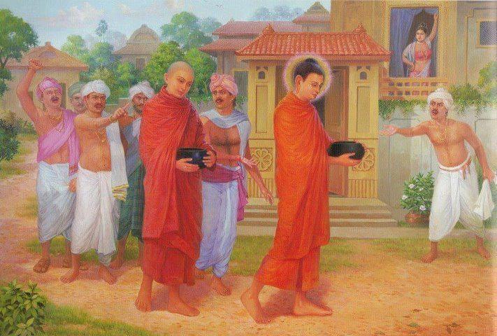 Chửi mắng và lời dạy của Phật