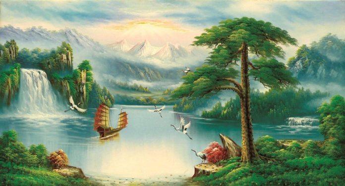 Tranh phong thủy đẹp