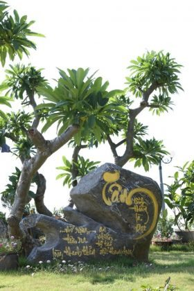 Cảnh quan chùa Ba Vàng
