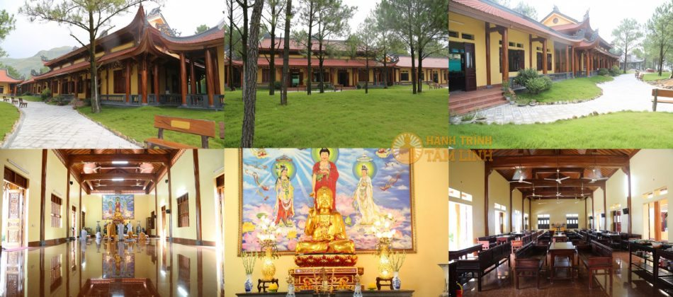 Khu nội viện ni chùa Ba Vàng