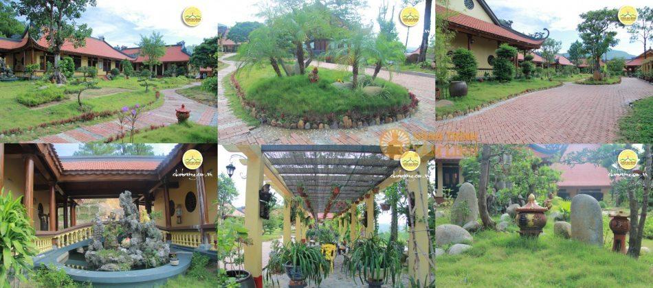 Nội viện tăng chùa Ba Vàng