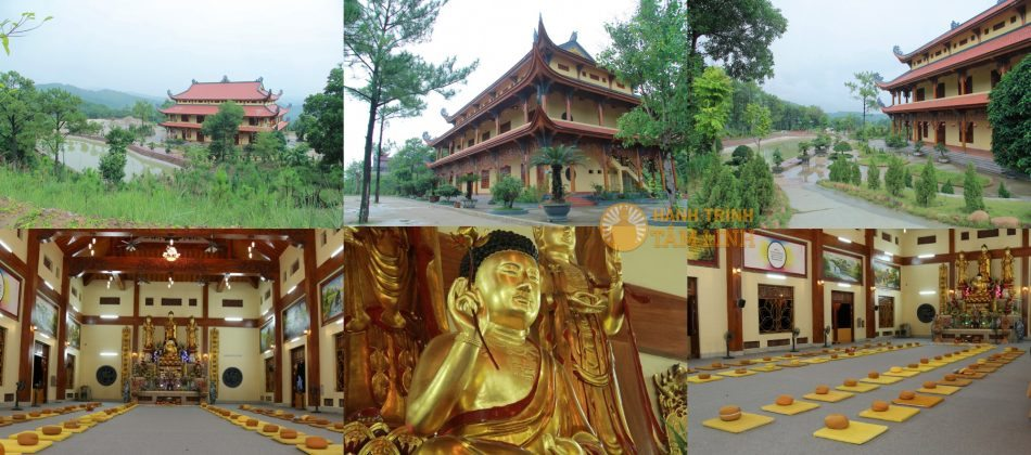 thiền đường chùa Ba Vàng