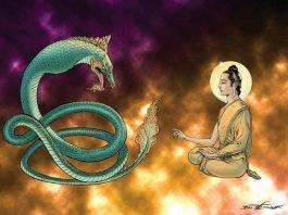 Đức Phật hàng phục độc xà