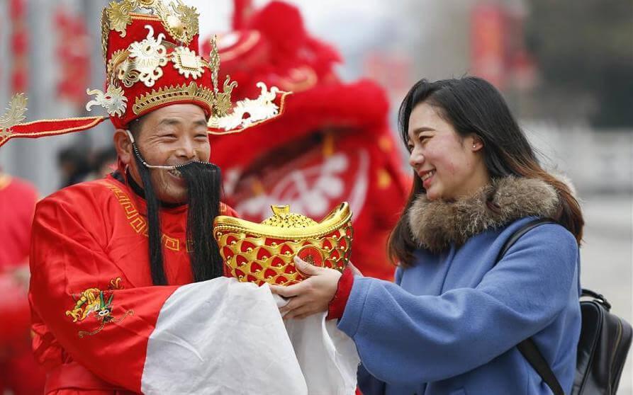 Ngày Thần Tài ở Trung Quốc